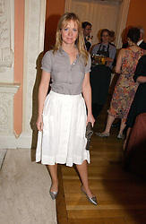 KATE REARDON at a party to celebrate the publication of 'A Much Married Man' by Nicholas Coleridge held at the ESU, Dartmouth House,  37 Charles Street, London W1 on 4th May 2006.<br />