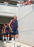 30 July 2006: Abby Wambach (USA). The United States Women's National Team defeated Canada 2-0 at SAS Stadium in Cary, North Carolina in an international friendly soccer match.