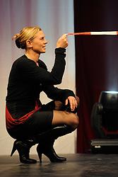 13-12-2010 ALGEMEEN: TOPSPORT GALA AMSTERDAM: AMSTERDAM<br /> In de Westergasfabriek werd het gala van de beste sportman, -vrouw, coach en ploeg gekozen / Marrit Leenstra<br /> ©2010-WWW.FOTOHOOGENDOORN.NL