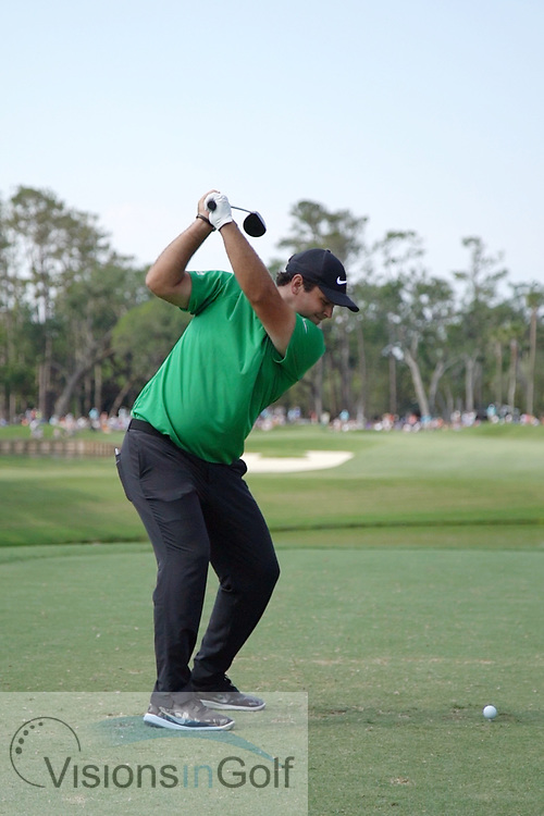 Patrick Reed<br /> High speed swing sequence with utility club<br /> May 2018