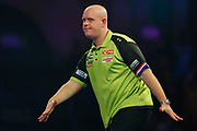 Michael van Gerwen during the World Darts Championships 2018 at Alexandra Palace, London, United Kingdom on 29 December 2018.
