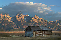 Moulton Cabin on Mormon Row, Grand Teton National Park Wyoming