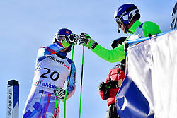 HARAUS Miroslav, Guide: HUDIK Maros, B2, SVK, Giant Slalom at the WPAS_2019 Alpine Skiing World Cup, La Molina, Spain