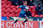 Jason McCarthy of Wycombe Wanderers during the EFL Sky Bet League 1 match between Doncaster Rovers and Wycombe Wanderers at the Keepmoat Stadium, Doncaster, England on 29 February 2020.