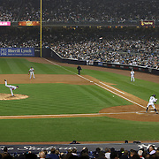 Alex Rodriguez batting for the New York Yankees during the New York Yankees V Boston Red Sox Baseball game which the New York Yankees won 14-2 to become American League East champions at Yankee Stadium, The Bronx, New York. 4th October 2012. Photo Tim Clayton
