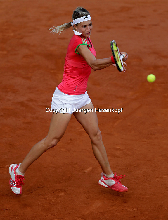 French Open 2011, Roland Garros,Paris,ITF Grand Slam Tennis Tournament ,Maria Kirilenko (RUS),.Einzelbild,Aktion,