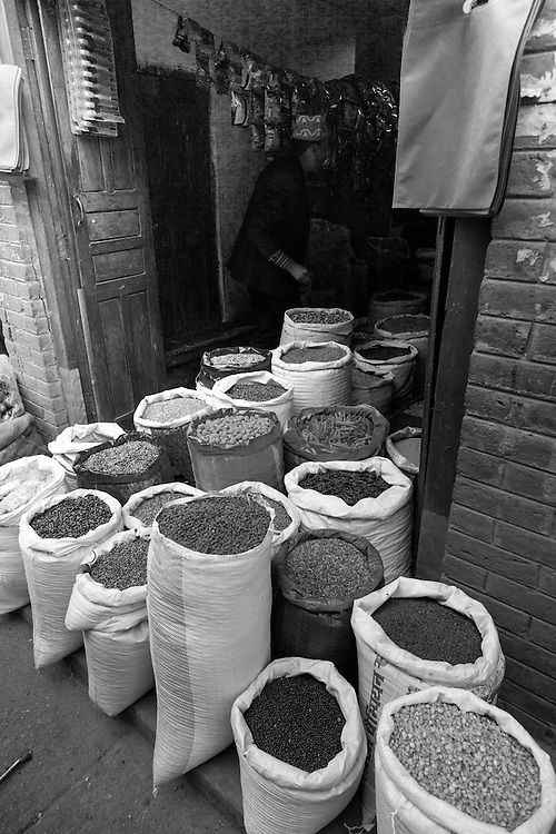 A dry goods store in Tansen, Nepal