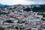 Diamantina_MG, Brasil...Vista panoramica da cidade de Diamantina...The panoramic view of Diamantina...Foto: LEO DRUMOND / NITRO