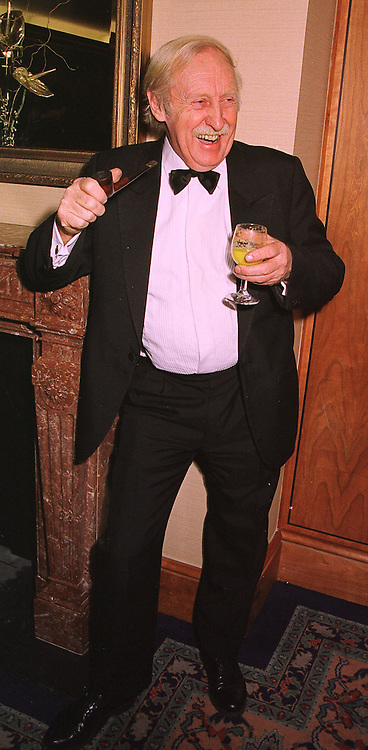 Inventor TREVOR BAYLIS, at a party in London on 4th February 1999. MNZ 24