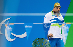 Darko Duric of Slovenia competes in Swimming Men's 200m Freestyle - S4 Final during the Rio 2016 Summer Paralympics Games on September 13, 2016 in Olympic Aquatics Stadium, Rio de Janeiro, Brazil. Photo by Vid Ponikvar / Sportida
