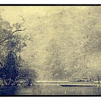 Ba Be lake in North Vietnam