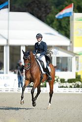 Huybregts Jill, (NED), Zamacho Z  <br /> Grand Prix U25<br /> CDIO Hagen 2015<br /> © Hippo Foto - Stefan Lafrentz<br /> 11/07/15