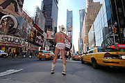 Naked Cowboy Times Square. Photo ©Suzi Altman