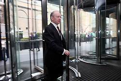 UK ENGLAND LONDON 21APR16 - Deutsche Bank CEO John Cryan arrives at the company's UK  headquarters in the City of London.<br /> <br /> jre/Photo by Jiri Rezac<br /> <br /> © Jiri Rezac 2016