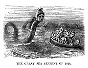 The Great Sea Serpent of 1848.