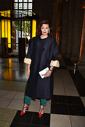 Jasmine Guinness at the Balenciaga Shaping Fashion VIP Preview, The V&A Museum, London England. 24 May 2017.<br /> Photo by Dominic O'Neill/SilverHub 0203 174 1069 sales@silverhubmedia.com
