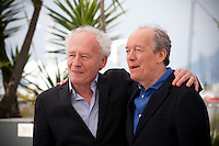 Directors Jean-Pierre Dardenne and Luc Dardenne at The Unknown Girl (La Fille Inconnue)  film photo call at the 69th Cannes Film Festival Wednesday 18th May 2016, Cannes, France. Photography: Doreen Kennedy