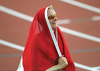 Friidrett. VM 2001 Edmonton. BUCHER, Andre        Schweiz<br />Leichtathletik  WM 2001    <br />800m Finale MäŠnner Weltmeister