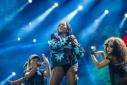 Jeremih ft. Ludmila se apresenta no Palco Planeta durante a 22ª edição do Planeta Atlântida. O maior festival de música do Sul do Brasil ocorre nos dias 3 e 4 de fevereiro, na SABA, na praia de Atlântida, no Litoral Norte gaúcho.  Foto: Emmanuel Denaui / Agência Preview