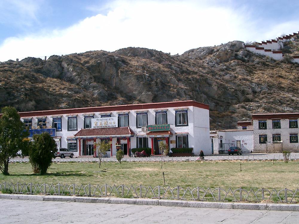 Lhasa main square