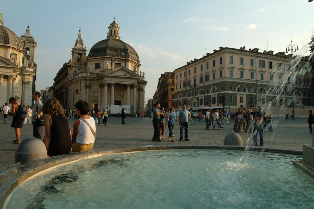 Piazza del Popola, Rome Italy