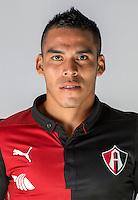 "Mexico League - BBVA Bancomer MX 2014-2015 -<br /> Rojinegros - Club Atlas de Guadalajara Fc / Mexico - <br /> Pablo Jesus Mascarenas Avendano "" Pablo Mascarenas """