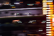 January 22-25, 2015: Rolex 24 hour. Racing action at night