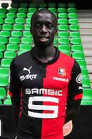Cheikh M'BENGUE - 15.09.2014 - Photo officielle Rennes - Ligue 1 2014/2015<br /> Photo : Philippe Le Brech / Icon Sport