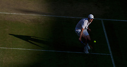 LONDON, ENGLAND - Monday, June 28, 2010: Sam Querrey (USA) during the Gentlemen's Singles 4th Round match on day seven of the Wimbledon Lawn Tennis Championships at the All England Lawn Tennis and Croquet Club. (Pic by David Rawcliffe/Propaganda)