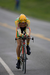 Ben Raby (KOD) during stage 1 of the Tour of Virginia.  The Tour of Virginia began with a 4.7 mile individual time trial near Natural Bridge, VA on April 24, 2007. Formerly known as the Tour of Shenandoah, the ToV has gained National Race Calendar (NRC) status for the first time in its five year history.