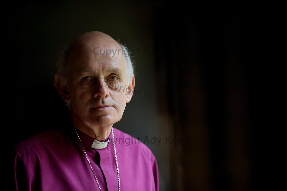 Bishop Trevor Willmott, Bishop of Dover at Canterbury cathedral, Kent, 1st october 2013.