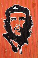 Image of Ernesto Che Guevara in Baragua, Ciego de Avila Province, Cuba.