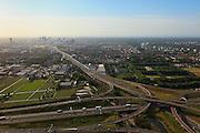 Nederland, Zuid-Holland, Den Haag, 23-05-2011; Verkeersknooppunt Prins Clausplein ter hoogte van vinexlocatie Ypenburg. Traffic junction Prins Clausplein near the Hague..luchtfoto (toeslag), aerial photo (additional fee required).copyright foto/photo Siebe Swart