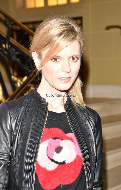 London,UK, 26th Feb 2015 : Emilia Fox attends the Vanity Project for the Prince's Trust at Hotel Cafe Royal in London. Photo by See Li