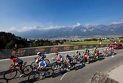 TAZREITER Angelika of Austria, YAPURA Fernanda of Argentina, LABOUS Juliette of France during the Women's Elite Road Race a 156.2km race from Kufstein to Innsbruck 582m at the 91st UCI Road World Championships 2018 / RR / RWC / on September 29, 2018 in Innsbruck, Austria. Photo by Vid Ponikvar / Sportida