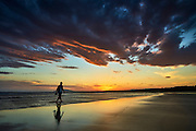 Sunset, 7 Mile Beach, Gerroa, South Coast, NSW, Australia