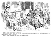 """Mollie. """"Auntie, don't cats go to heaven?"""" Auntie. """"No my dear. Didn't you hear the vicar say at the children's service that animals hadn't souls and therefore could not go to heaven?"""" Mollie. """"Where do they get the strings for the harps, then?"""""""
