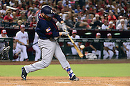 PHOENIX, AZ - JULY 04:  Derek Norris #3 of the San Diego Padres hits a two run home during the sixth inning against the Arizona Diamondbacks at Chase Field on July 4, 2016 in Phoenix, Arizona.  (Photo by Jennifer Stewart/Getty Images)