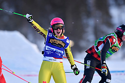 19.01.2019, Idre Fjall, Idre, SWE, FIS Weltcup Ski Cross, im Bild Zacher Heidi GER, // during the FIS Ski Cross World Cup at the Idre Fjall in Idre, Sweden on 2019/01/19. EXPA Pictures © 2019, PhotoCredit: EXPA/ Nisse Schmidt<br /> <br /> *****ATTENTION - OUT of SWE*****