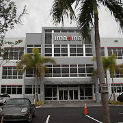 MEDLEY, FLORIDA, DECEMBER 3, 2015<br /> Imagina building where FBI agents took evidence from the offices of Media World in Miami during a raid of premises. Roger Huguet, CEO of Media World, was secretly charged and pleaded guilty in connection with the FIFA investigations. (Photo by Angel Valentin/Freelance)