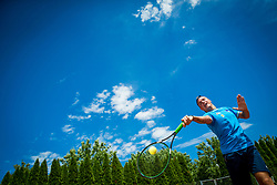 Media day of the Deaf tennis player Marino Kegl, organised by ZSIS - POK, on June 29, 2017 in Murska Sobota, Slovenia. Photo by Vid Ponikvar / Sportida