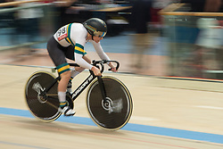 February 28, 2019 - Pruszkow, Poland - Kaarle McCulloch (AUS) on day two of the UCI Track Cycling World Championships held in the BGZ BNP Paribas Velodrome Arena on February 28, 2019 in Pruszkow, Poland. (Credit Image: © Foto Olimpik/NurPhoto via ZUMA Press)