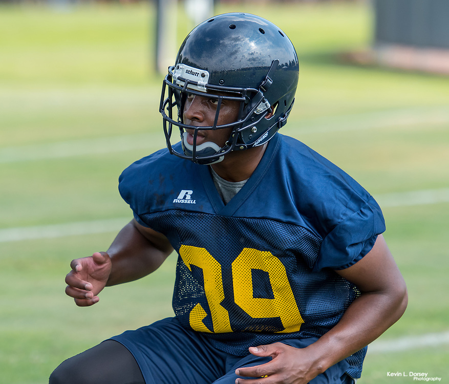 2017 A&T Football (1st Fall Camp) \ www.ncataggies.com - Photo by: Kevin L. Dorsey
