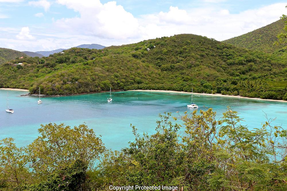 Caribbean Sea, beach, view, ocean, water, boating, vision, sail, wind, sea, vacation, waves, islands, Virgin Islands, St. John, USVI,