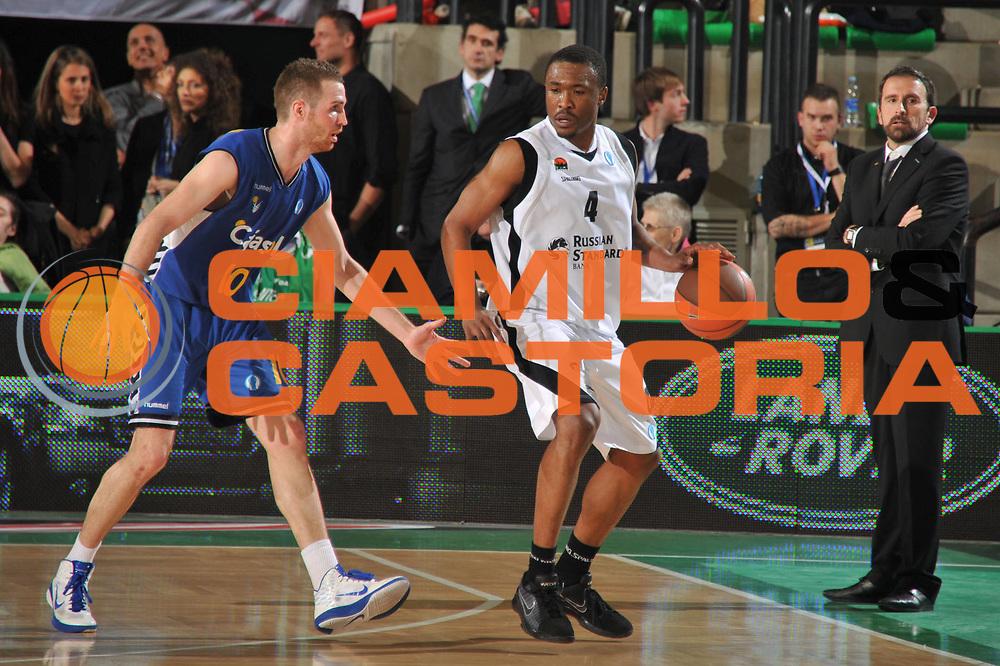 DESCRIZIONE : Treviso Eurocup Finals 2010-11 1st-2nd Place 1-2 Posto Finale Finale Unics Kazan Cajasol Siviglia Sevilla<br /> GIOCATORE : Terrell Lyday<br /> SQUADRA : Unics Kazan Cajasol Siviglia Sevilla<br /> EVENTO : Unics Kazan Cajasol Siviglia Sevilla<br /> GARA : Unics Kazan Cajasol Siviglia Sevilla<br /> DATA : 17/04/2011<br /> CATEGORIA : Palleggio<br /> SPORT : Pallacanestro <br /> AUTORE : Agenzia Ciamillo-Castoria/M.Gregolin<br /> GALLERIA: Eurocup 2011 -2011<br /> FOTONOTIZIA: Treviso Eurocup Finals 2010-11 1st-2nd Place 1-2 Posto Finale Finale Unics Kazan Cajasol Siviglia Sevilla<br /> PREDEFINITA: