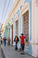 Sidewalk in Cardenas, Matanzas, Cuba.