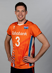 14-05-2018 NED: Team shoot Dutch volleyball team men, Arnhem<br /> Maarten van Garderen #3 of Netherlands