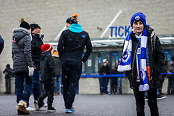 Fans arrive at Amex Stadium, Brighton in the snow - Mandatory by-line: Jason Brown/JMP - 11/02/2017 - FOOTBALL - Amex Stadium - Brighton, England - Brighton and Hove Albion v Burton Albion - Sky Bet Championship