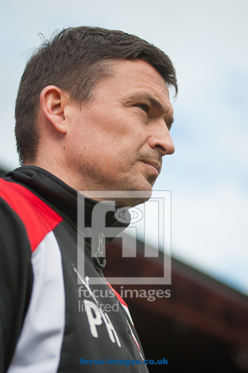 Barnsley manager Paul Heckingbottom during the Sky Bet Championship match at Oakwell, Barnsley<br /> Picture by Matt Wilkinson/Focus Images Ltd 07814 960751<br /> 01/04/2017