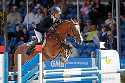 Houwen Kristian (NED) - Charmeur M<br /> 6 jarige Springpaarden<br /> KWPN Paardendagen Ermelo 2013<br /> © Dirk Caremans